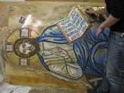 Византийская мозаика,  выполненная под заказ