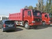 Самосвалы Хово,  Howo,  - в Омске ,  6х4 25 тонн  2300000 руб в наличии.