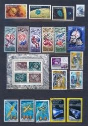 Наборы почтовых марок по темам