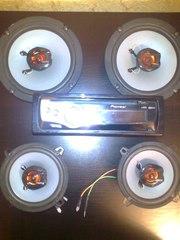 Продаю магнитолу Pioneer DEN-50UB,  USB, MP3,  четыре динамика HERTZ
