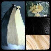 Волосы для наращивания,  кератин