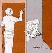 Установка межкомнатных дверей.Опыт .Качество.