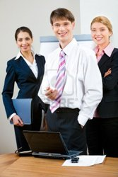активный лидер в торговую компанию
