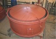 Металлоформа для колодезных колец КС 10.9,  ГОСТ 8020-90