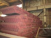 Металлоформа многопустотных плит ПК 63-15