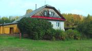 Дом с подвалом,  постройками, участок 1га, сад, огорд, Баня, гараж, теплица
