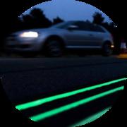 Светящаяся краска для дорожной разметки